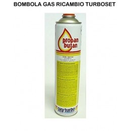 BOMBOLA GAS PER TURBO SET 90 - 110 - 200 OXYTURBO SALDATURA A CANNELLO VAL. 7/16
