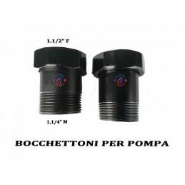 BOCCHETTI PER POMPA CIRCOLATORE 1.1/2F X 1.1/4M