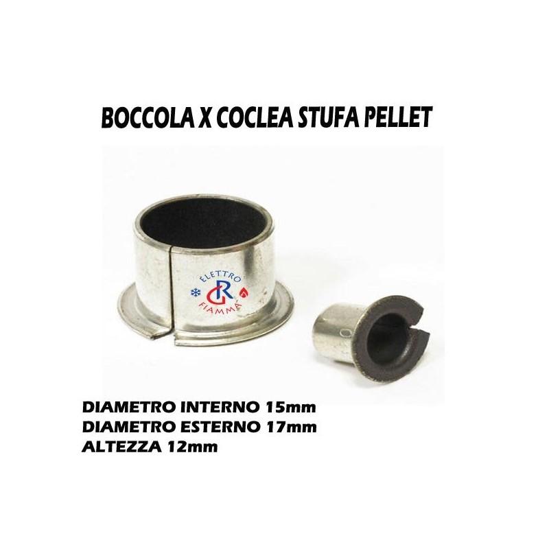 BOCCOLE BRONZINE STUFA CALDAIA PELLET BMF 1512