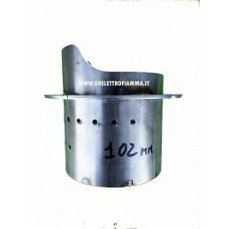 BRACIERE TERMOBOILER 19KW LAMINOX D101