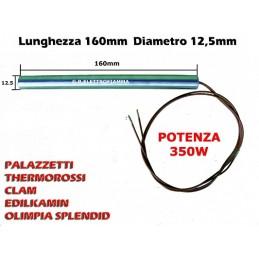 CANDELETTA RESISTENZA ACCENSIONE HT46073 HT54255 HT62703 HT54014 W350 V230 COD. 60013918 STUFA PELLET MCZ CLAM