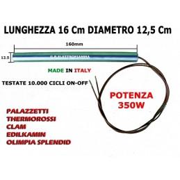 CANDELETTA STUFA A PELLET 12,5X160 - 350W HT