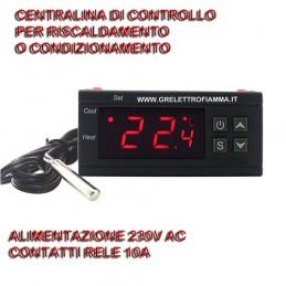 CENTRALINA DI CONTROLLO CAMINO TERMOCAMINO CELLA FRIGO ECC