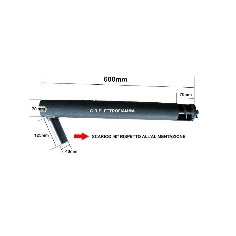 COCLEA PELLET CALDAIA CAMINO L600mm