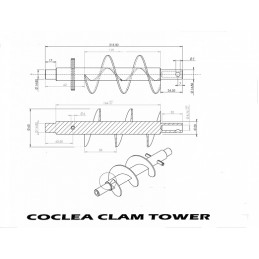 COCLEA PELLET CLAM TOWER