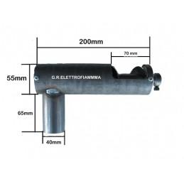 COCLEA VITE SENZA FINE PELLET L200mm