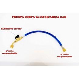 FRUSTA CORTA CON RUBINETTO RICARICA GAS R410A 5/16 - 5/16