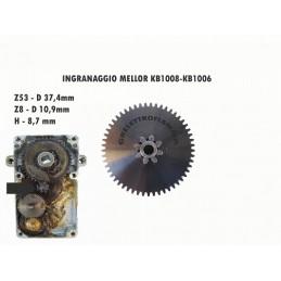INGRANAGGIO FERRO MOTORIDUTTORE STUFA PELLET MELLOR KB1008 KB1006