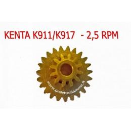 INGRANAGGIO KENTA 2,5RPM K911 K917 FERRO OTTONE