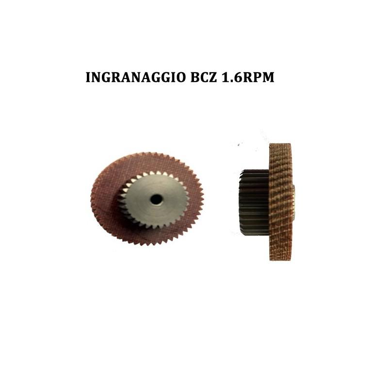 INGRANAGGIO MOTORIDUTTORE BCZ MOD.504 1.6 RPM