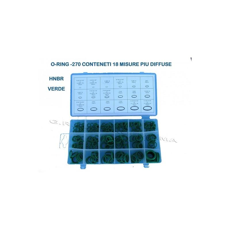 O-RING COMPRESSORE CONDIZIONATORE CLIMATIZZATORE AUTO GAS R134A