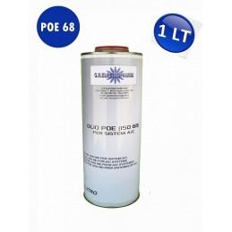 OLIO LUBRIFICANTE POE 68 1 Lt CLIMATIZZAZIONE REFRIGERAZIONE R410A R404 R134A R407C R22
