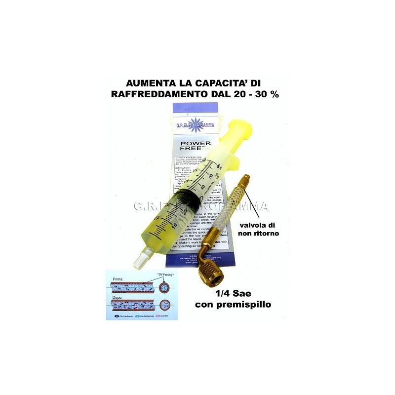 POTENZIATORE CONDIZIONATORE CLIMATIZZATORE AUTO GAS R134A R410A R407C R22 R404