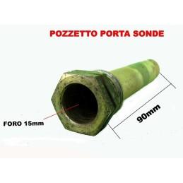 POZZETTO PORTA SONDE CAMINO STUFA PANNELLO SOLARE D15mm