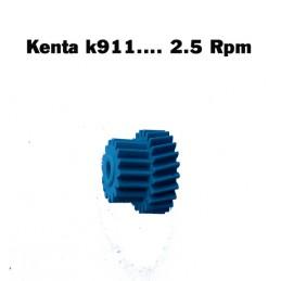PRIMO INGRANAGGIO KENTA K911/K917 - 2,5 RPM BLU