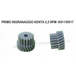 PRIMO INGRANAGGIO KENTA K911/K917 - 2,5 RPM ORIGINALE