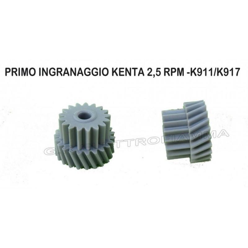 PRIMO INGRANAGGIO KENTA K911/K917 - 2,5 RPM ORIGINALE
