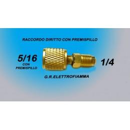 RACCORDO RIDUZIONE DRITTA GAS R410A 5/16F-1/4M