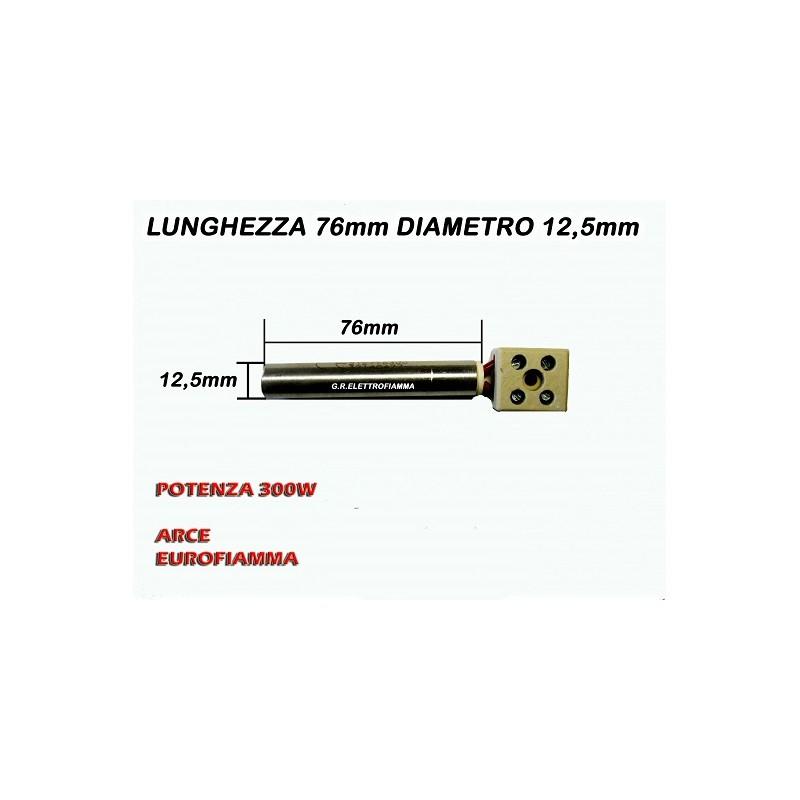 RESISTENZA STUFA PELLET 12,5X80 300W ARCE FURBETTA