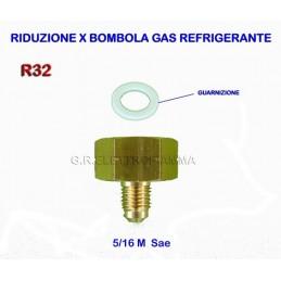 RIDUZIONE BOMBOLA GAS R32 X 5/16