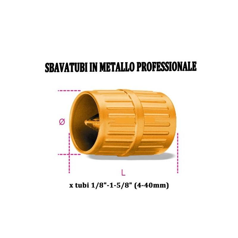 SBAVA TUBO SBAVATORE METALLO TUBO RAME MULTISTATO 6-42mm PROFESSIONALE
