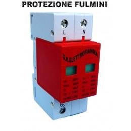 SCARICATORE SOVRATENSIONE SOVRATENZIONE 2P 30-60Ka C 230V AC protezione fulmini