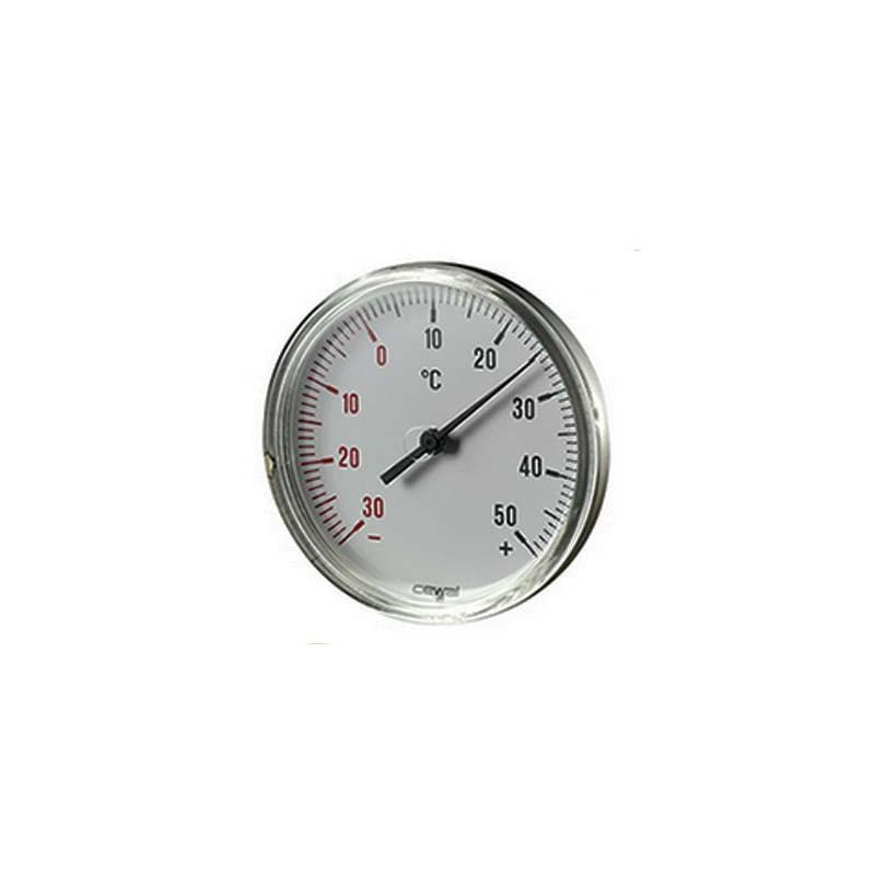 TERMOMETRO -30 + 50 CON RACC 1/2
