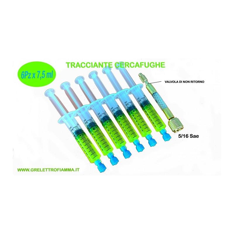 TRACCIANTE CERCAFUGHE UV CONDIZIONATORE CLIMATIZZATORE GAS R410A