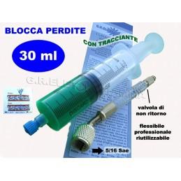 TURAFALLE A SIRINGA 30ml BLOCCA PERDITE GAS R410A CONDIZIONATORE CON FLEX 5/16