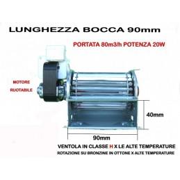 VENTOLA INSERTO CAMINO COPREL FFL 90/90-1ASCL 90 MOTORE SX