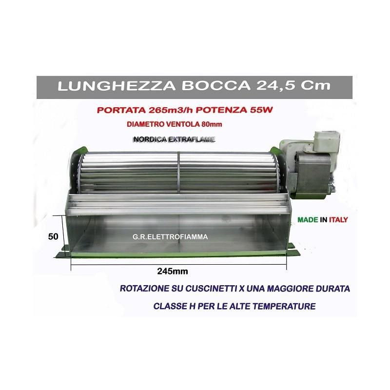 VENTOLA TANGENZIALE STUFA PELLET COPREL FFR80-240/40 NORDICA EXTRAFLAME