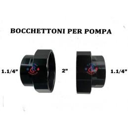 BOCCHETTI PER POMPA CIRCOLATORE 1.1/4F X 2F