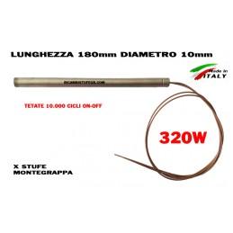 CANDELETTA 10X180 320W MONTEGRAPPA