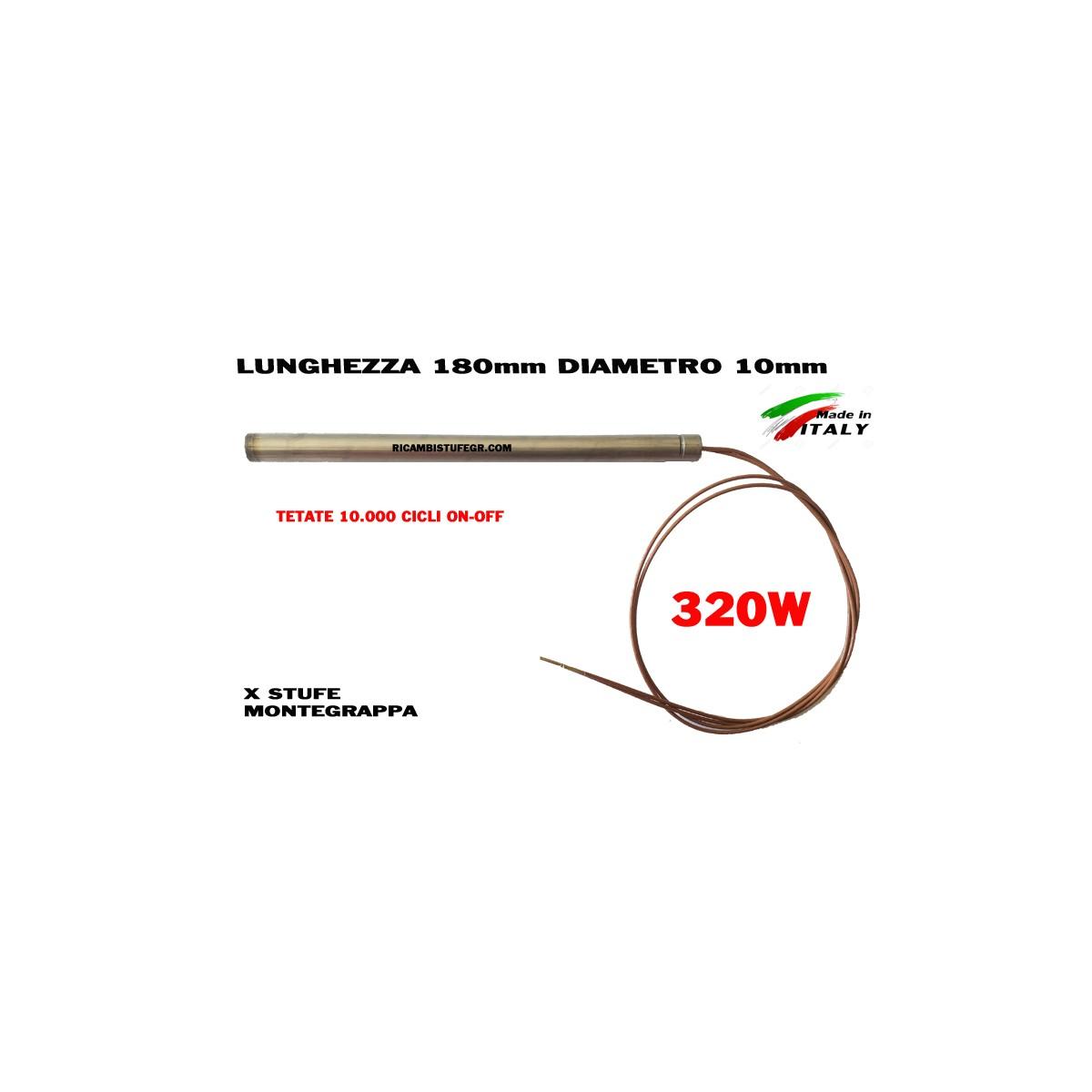 CANDELETTA 10X175 320W DAL ZOTTO THERMOROSSI