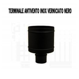CAPPELLO ANTIVENTO INOX D80 STUFA PELLET