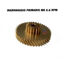 INGRANAGGIO OTTONE MOTORIDUTTORE PELLET MERKLE-KORFF 5,6 RPM UNGARO THERMOROSSI