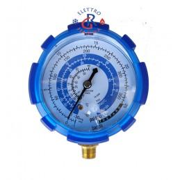 MANOMETRO BASSA PRESSIONE GAS R410A R407C R134A R22